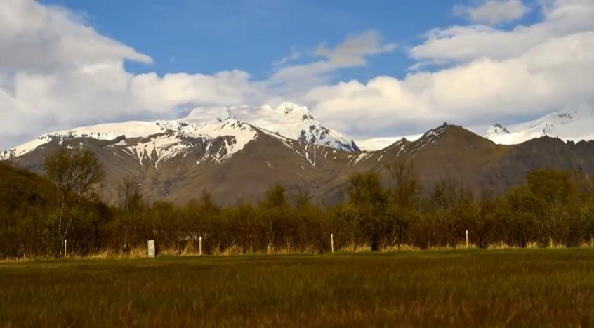 Timelapse Skaftafell Iceland 2012