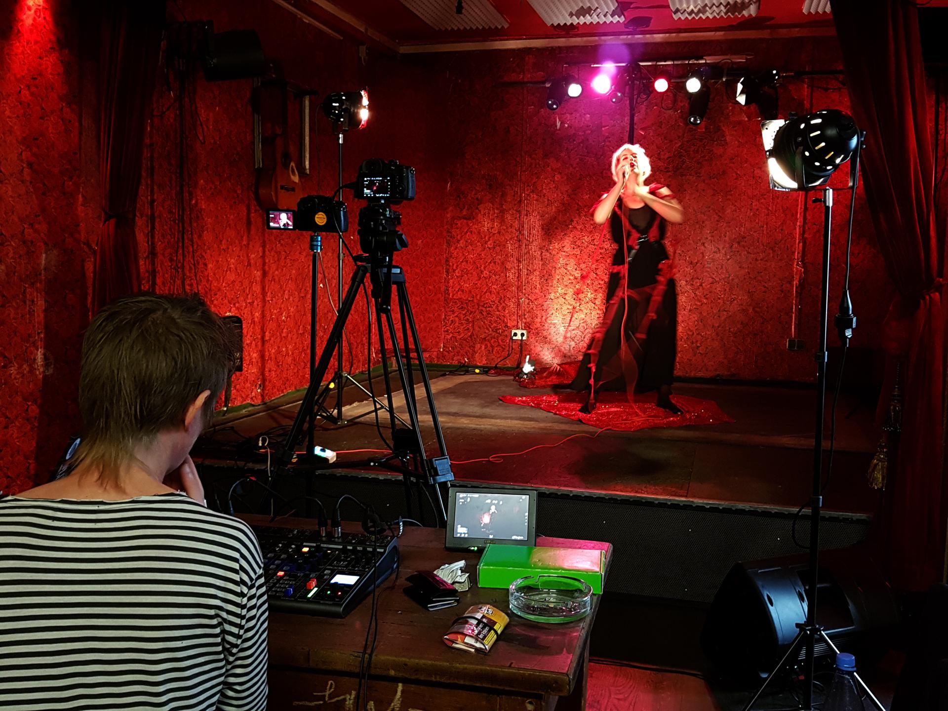 Performance Video mit Sólveig Matthildur