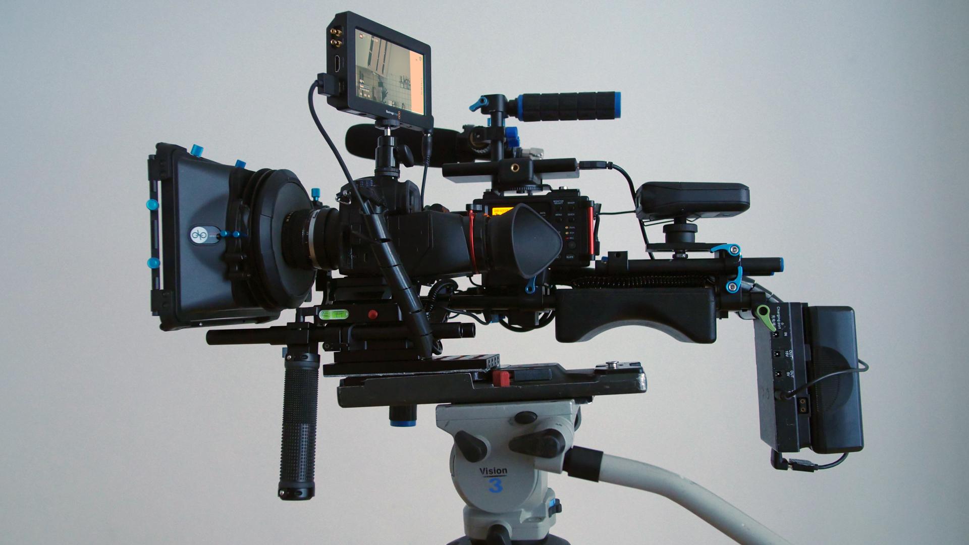 GH5 Kamera Rig