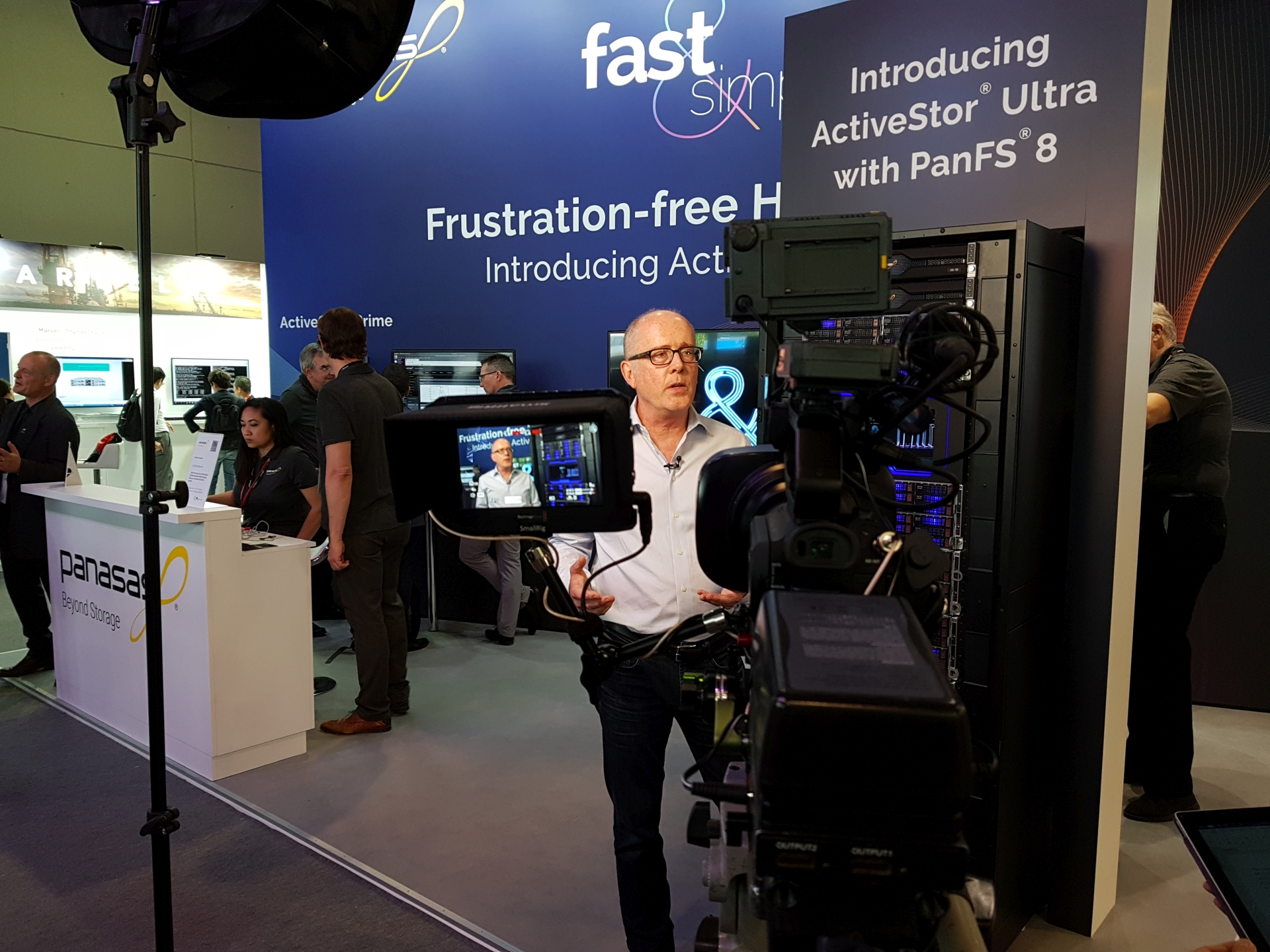 Messe Interviews ISC 2019 FFM