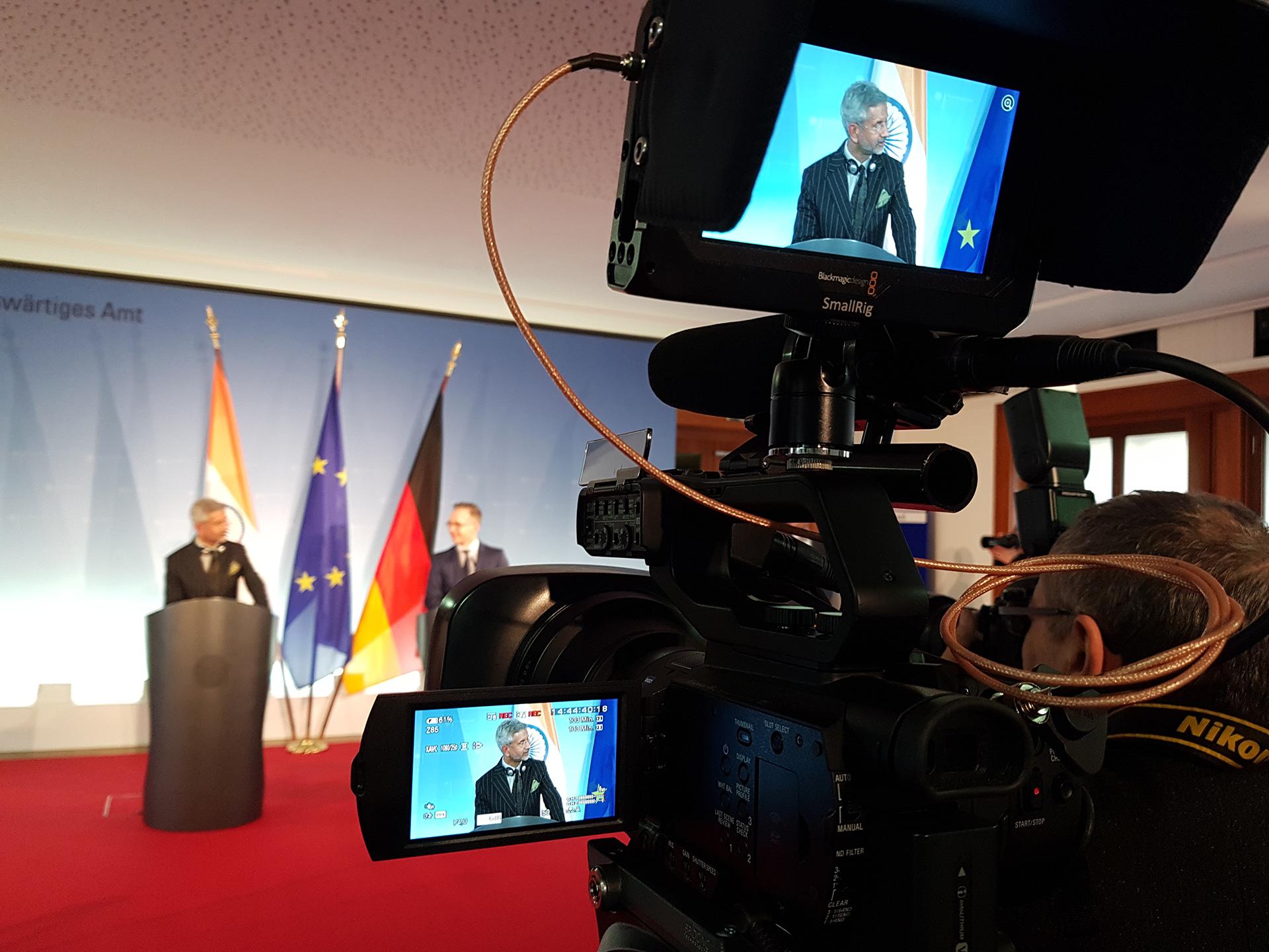 Pressekonferenz Auswärtiges Amt