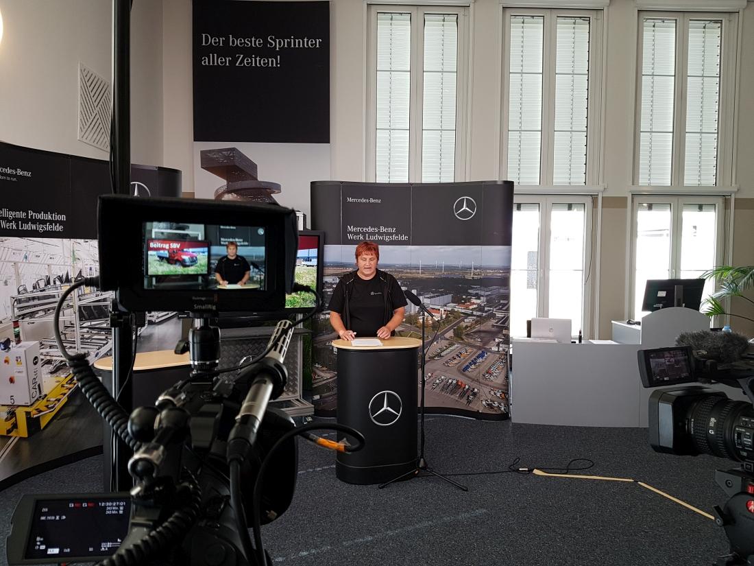 Virtuelle Betriebsversammlung Mercedes Benz