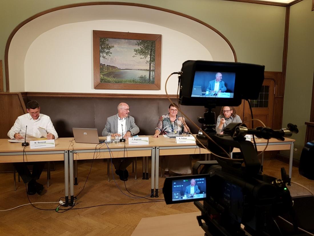 Livestream Bürgerversammlung Eberswalde